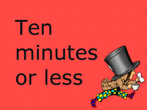 short plays ten minutes