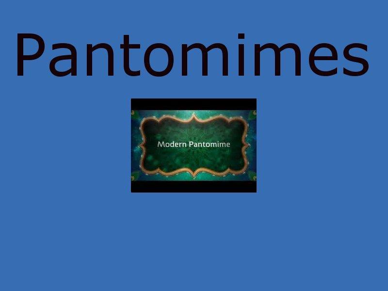 panto scripts