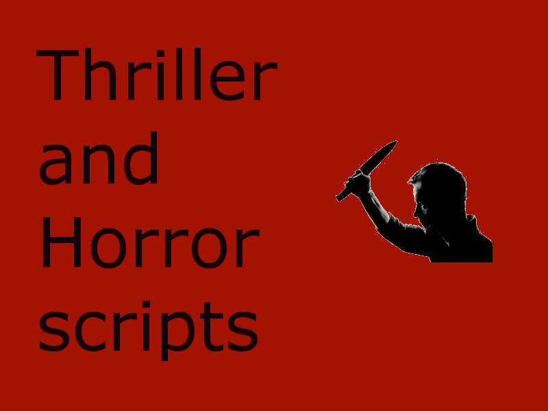 thrillers and horror