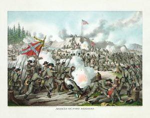 American civil war drama