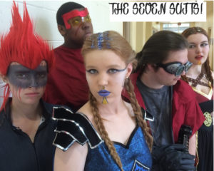 funny science fiction teen play