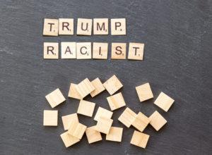Donald Trump racist skit
